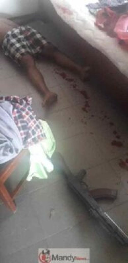 B2EBC7F8-EA07-4CBB-8512-53F458279889 Ghanaian Police Officer Shoots Himself To Demise Over Theft (Images)