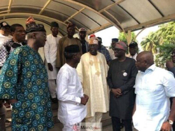 D0qseJ_XQAQvX7p Tinubu Meets All The Political Warriors In Lagos (Pics)