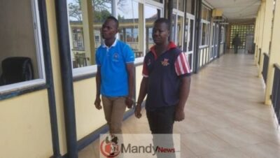 EJISU KIDNAPPERS 1 - Two Arrested For Kidnapping 14-Year-Old Boy (Photo)