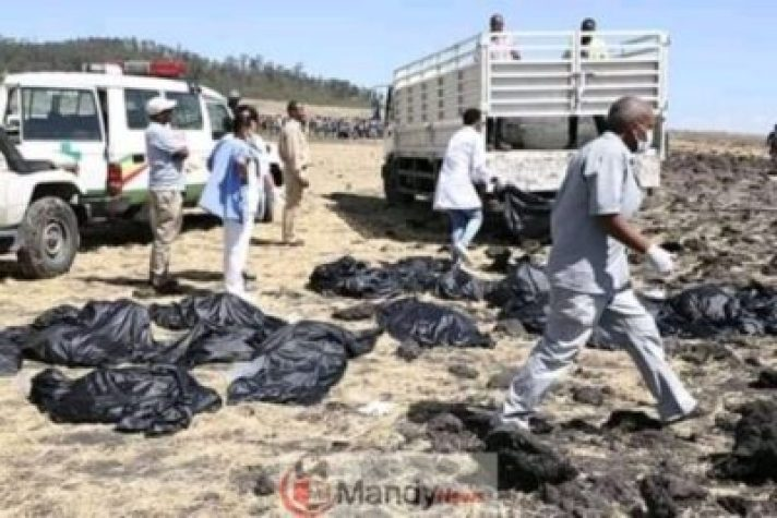 FB_IMG_15522573724475762 Crash site Of Ethiopian Airlines That Killed 157 People (Photos)