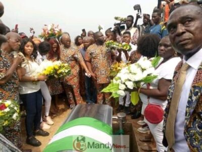 FB IMG 15533876873871440 - Benin Stood Nonetheless For The Grand Burial Of Iyayi Efianayi   (Pictures)