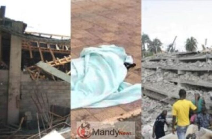 FotoJet-11 Constructing Collapses In Ghana, Kills 2-year-old Boy (Picture)
