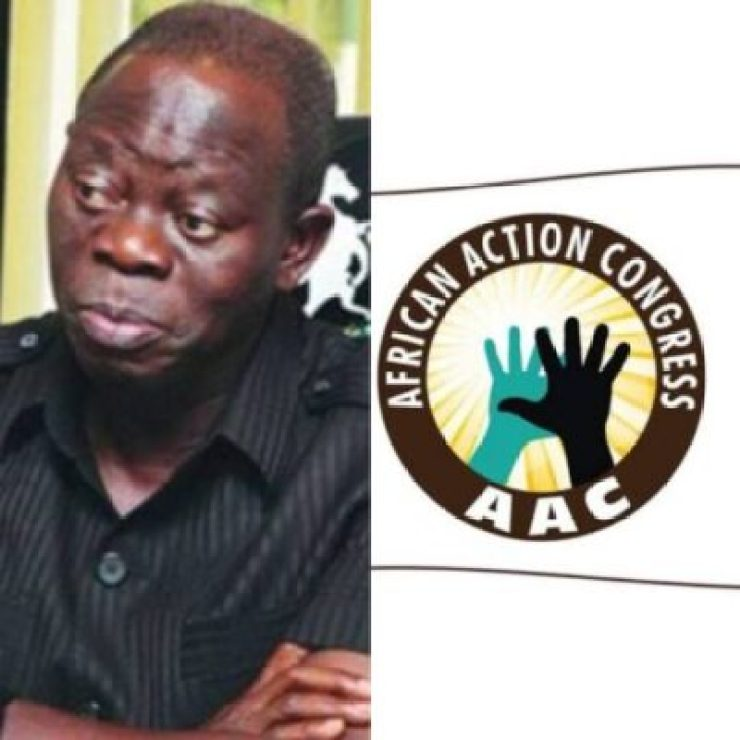 InShot_20190331_183725124 We Are Not In Any Coalition With AAC In Rivers State - Oshiomhole
