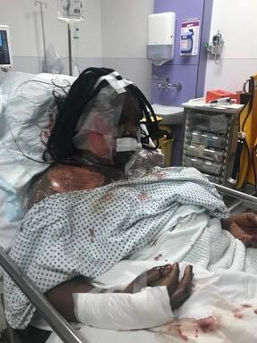 London-Ghanaian-man-butcher-wife-5 Ghanaian Man Butchers Wife, Pours Hot Water On Her In London (Photos)
