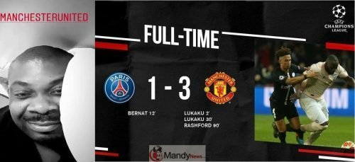 PSG vs Manchester United 1 3 All Goals Highlights 1 1024x468 - Check Out Don Jazzy's Hilarious Reaction To Manchester United's Victory