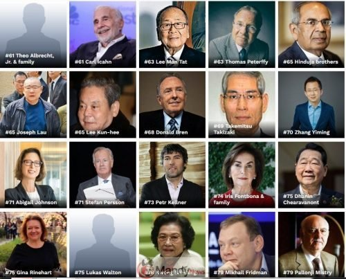 Screenshot_13 The Richest People In The World For 2019