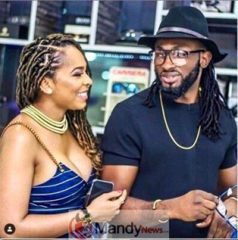 Uti-Nwachukwu-and-TBoss Uti Nwachukwu Reacts To Tboss Being Pregnant For Him