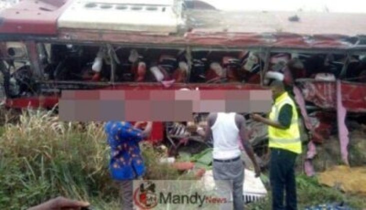 VVIP-bus-crash-on-Tamale-2 Over 70 Individuals Useless In A VVIP Bus Crash In Tamale, Ghana (Images)