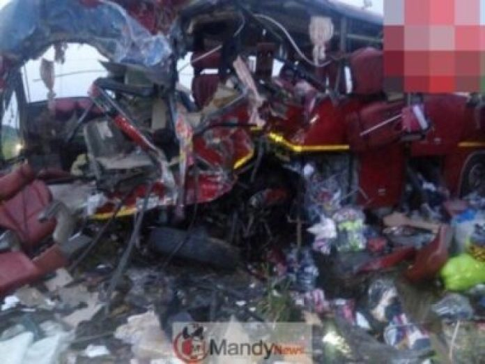 VVIP bus crash on Tamale 696x522 - Over 70 Individuals Useless In A VVIP Bus Crash In Tamale, Ghana (Images)