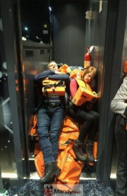 b88f6c5265799e6e85ed6b59a8f32700 - 1,300 Passenger Trapped In Norway Cruise Ship Rescued (Video, Pictures)