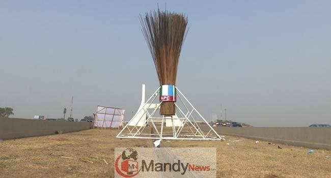 APC Giant Broom Abuja