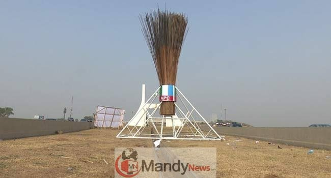 images - APC Giant Broom Abuja: Before And Now (Photos)