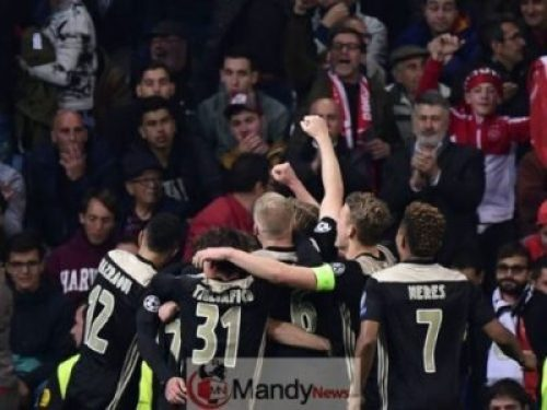 process Real Madrid 1-4 Ajax: Dutch Side Knock Reigning Champions Madrid Out Of UCL