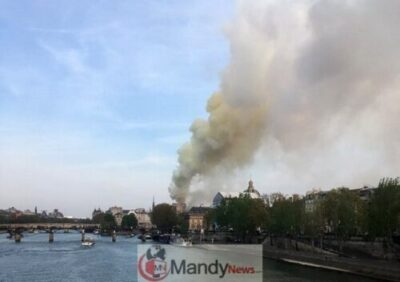 1555349573 000 1FO1LK - Fire Breaks Out At Notre-Dame Cathedral In Paris (Photos)