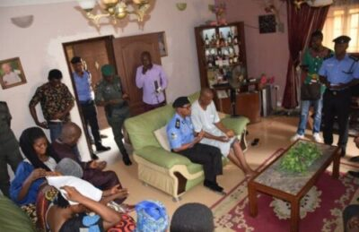 9103107 screenshot20190402122702 jpeg921dd4d8e90f06767fe6768d78fe6adf - Lagos Commissioner Of Police, Muazu Visits Kolade Johnson Household (Photographs)