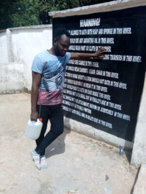 IMG 20190404 105338 768x1024 - My Visit To Babalola's Tomb, Mountain And River Oni At Efon Alaaye