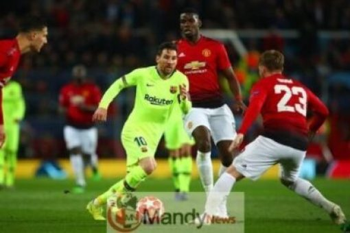 Messi-vs-Man-United Manchester United vs Barcelona 0-1 - All Goals and Highlights (Video)