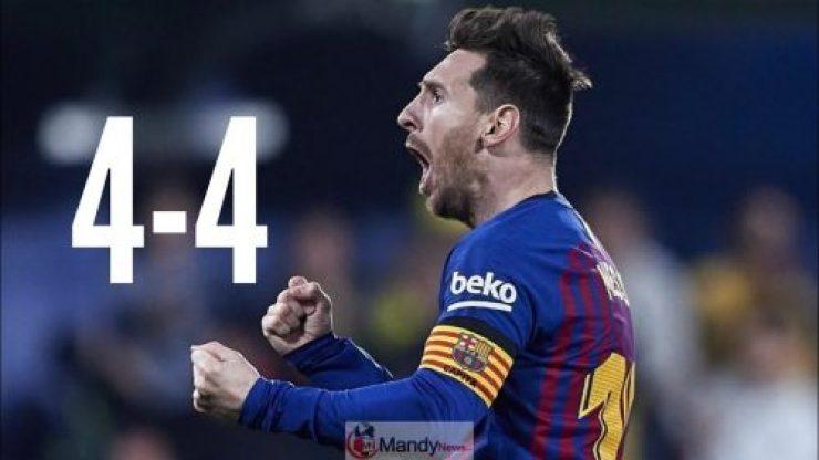 Messi-1024x576 Barcelona vs Villarreal 4-4 All Goals & Highlights 02/04/2019
