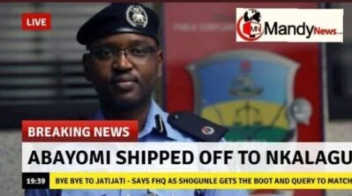 1556912397309 Yomi Shogunle Has Been Shipped Off To Nkalagu, Ebonyi State.
