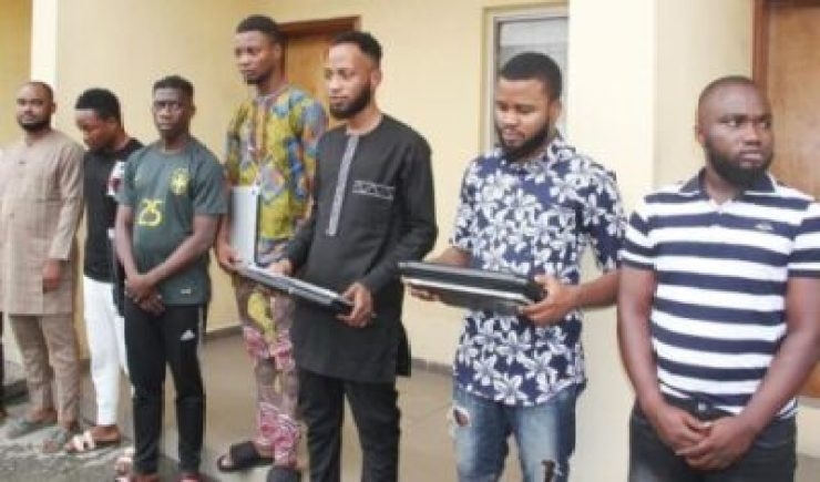 9447601_5aafccac40034459239384d80485c212_jpeg8f1bc25e5391f9d2e7d2c75ec0750e3e EFCC Arrests 8 Yahoo Boys In Lagos. See Them With Their Laptops (Photos)