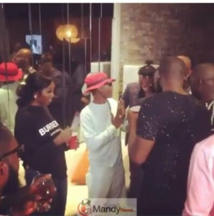 Wizkid And Tiwa Savage Step Out Together For Patoranking's Album Listening Party