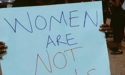 SayHerNameNigeria Protest