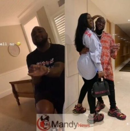 Davido-Proposed-To-Chioma-She-Said-No-He-Walked-Away-Disappointed Chioma Rejects Davido's Marriage Proposal (Watch Video)