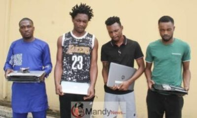 EFCC Arrest Internet Fraudsters
