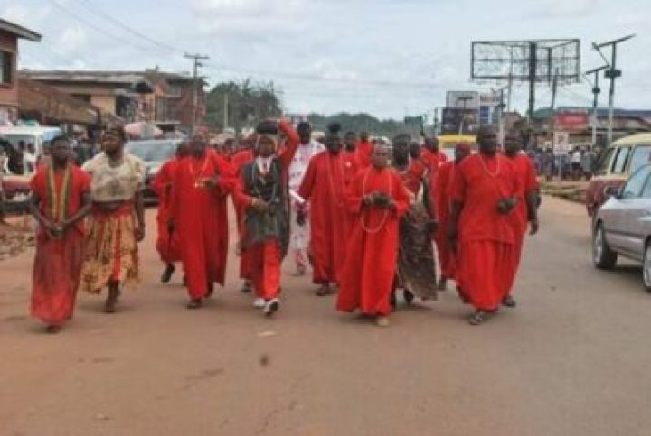 FB_IMG_1558138150525 Benin Traditional Worshippers Embark On Acts Of Purification And Sanctification