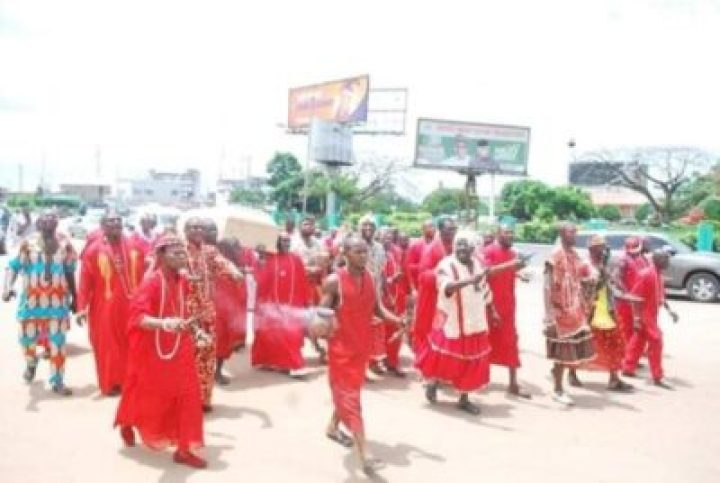 FB_IMG_1558138159030 Benin Traditional Worshippers Embark On Acts Of Purification And Sanctification