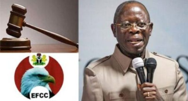 Oshiomhole-and-EFCC Court Strikes Out Suit Seeking Order For EFCC To Investigate Oshiomhole