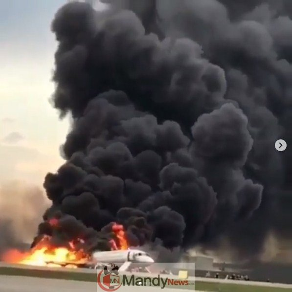 Screenshot_9-2 41 Killed After Russian Airplane Catches Fire (Photos,Video)