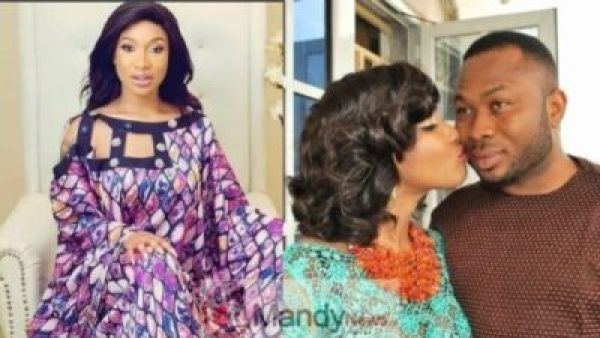 Tonto-dikeh-and-churchill No Marriage Is Perfect - Actors Guild Warns Tonto Dikeh, Threaten To Sanction Her