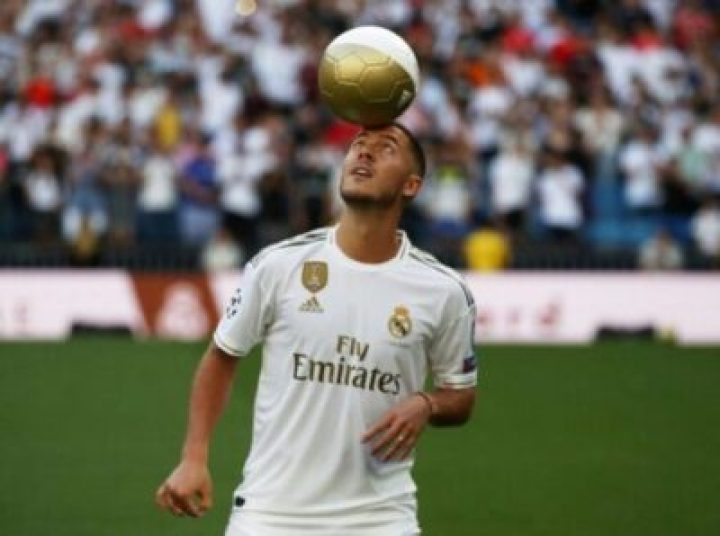 , Hazard Unveiled To 50,000 Real Madrid Fans