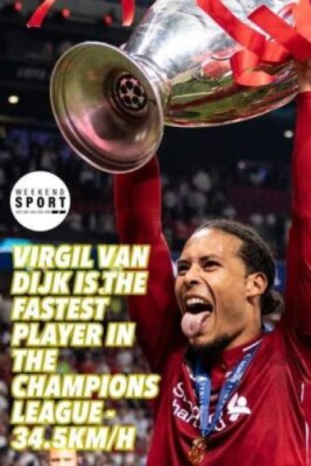 9634318_20190615180123_jpeg78c27e515ca2a117038c51a5841574d4 Liverpool Star, Van Dijk Named Fastest Player In 2018-19 Champions League (Photos)