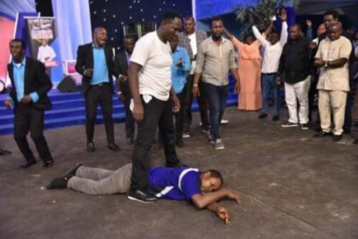 , Prophet Jeremiah Delivered Man Who Came To Attack Him With Live Cobra (Photos)