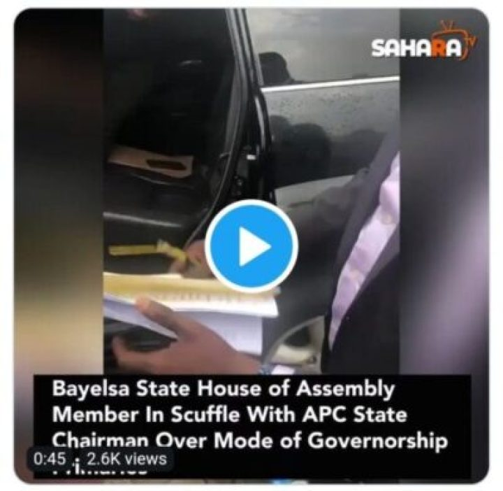 9855403_screenshot201907181731351_jpeg8830e5c1e1f485d08ec70aca3ac96636 Lawmaker Fights With Bayelsa APC Chairman Over Mode Of Primaries (Pics)