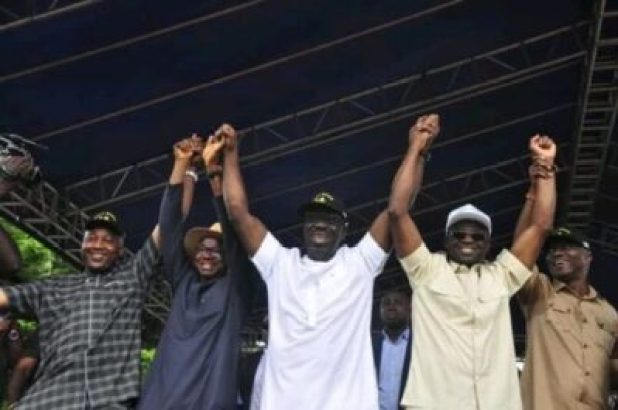 FB_IMG_15628606353906680 Market Women, Labour Groups, Youths, Others Pledge Support For Gov. Obaseki (Photos)