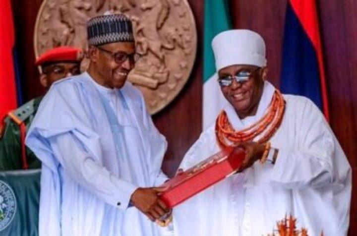 IMG_20190704_093929_310 Oba Ewuare, Edo Chiefs Visit Presidential Villa Over Oshiomhole, Obaseki Crisis