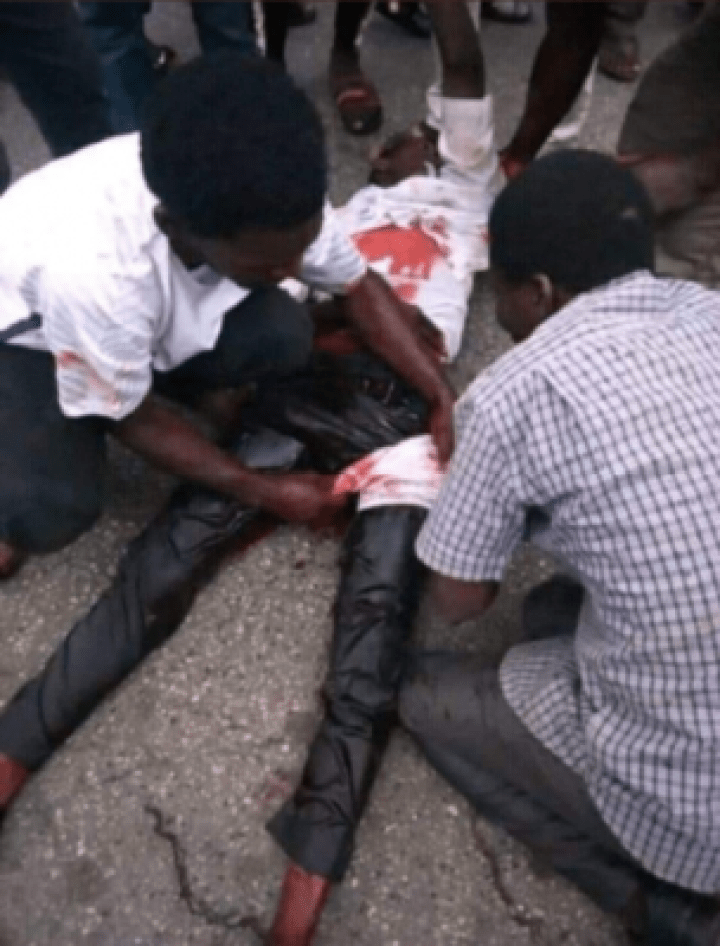 Screenshot_20190722-141732 Many Injured As Police Clash With Shiites in Abuja (Photos, Video)