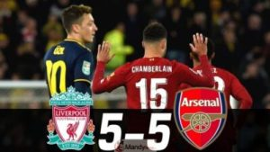 Liverpool-vs-Arsenal-300x169 Liverpool vs Arsenal 5-5 ( 5-4 ) - All Goals And Highlights (Video)