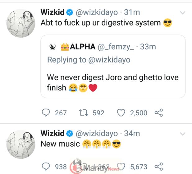 Screenshot_20191030-174223 Wizkid Set To Drop New Single On Friday
