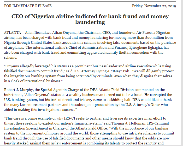 Screenshot_3-4 Allen Onyema, Air Peace CEO Charged In U.S. With fraud & Money Laundering