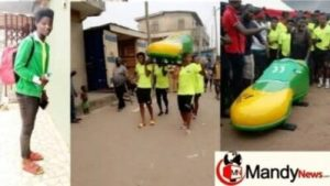 Female Footballer Laid To Rest In A Football Boot Casket In Ghana