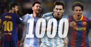 Messi Now Has 1,000 Goal Contributions In His Career