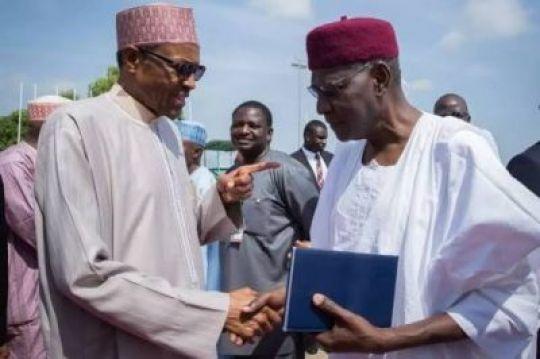 Abba Kyari and Buhari