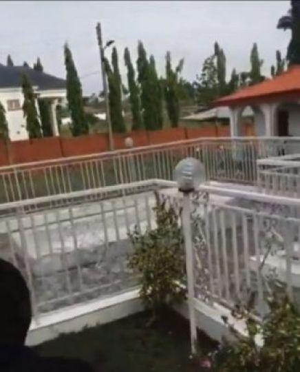 Davido Visits Isiaka Adeleke's Grave, Pays Homage (Video)