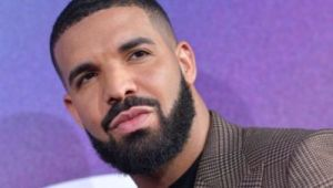 """(FILES) In this file photo taken on June 4, 2019 Executive Producer US rapper Drake attends the Los Angeles premiere of the new HBO series """"Euphoria"""" at the Cinerama Dome Theatre in Hollywood. - Rapper Drake has partnered with Canopy Growth on a new cannabis venture, the company announced on November 7, 2019, expanding the Canadian pot giant's list of celebrity backers. He joins Seth Rogen, Evan Goldberg, Martha Stewart and Snoop Dogg in partnering with Canopy Growth. (Photo by Chris Delmas / AFP)"""
