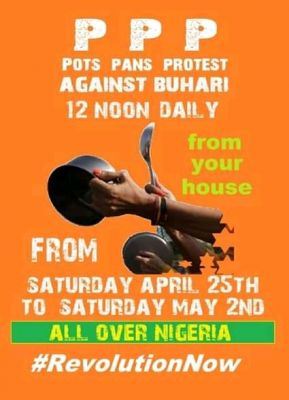 Sowore Launches Pots Pan Protest (PPP) Against Buhari