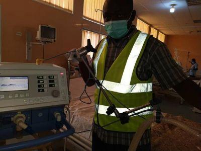 Coronavirus: Scrap Ventilators Repairs In Jos (Photos)